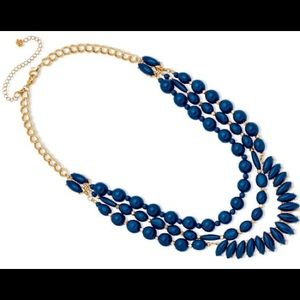 Premier Designs In The Navy necklace